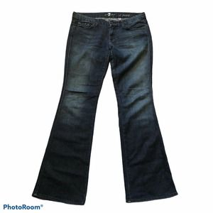 7 For All Mankind Jeans The Lexie 30P Bootcut Dark